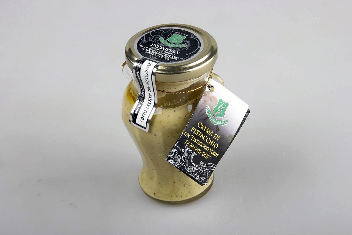 Crema dolce spalmabile di pistacchio di Bronte DOP 190 gr.