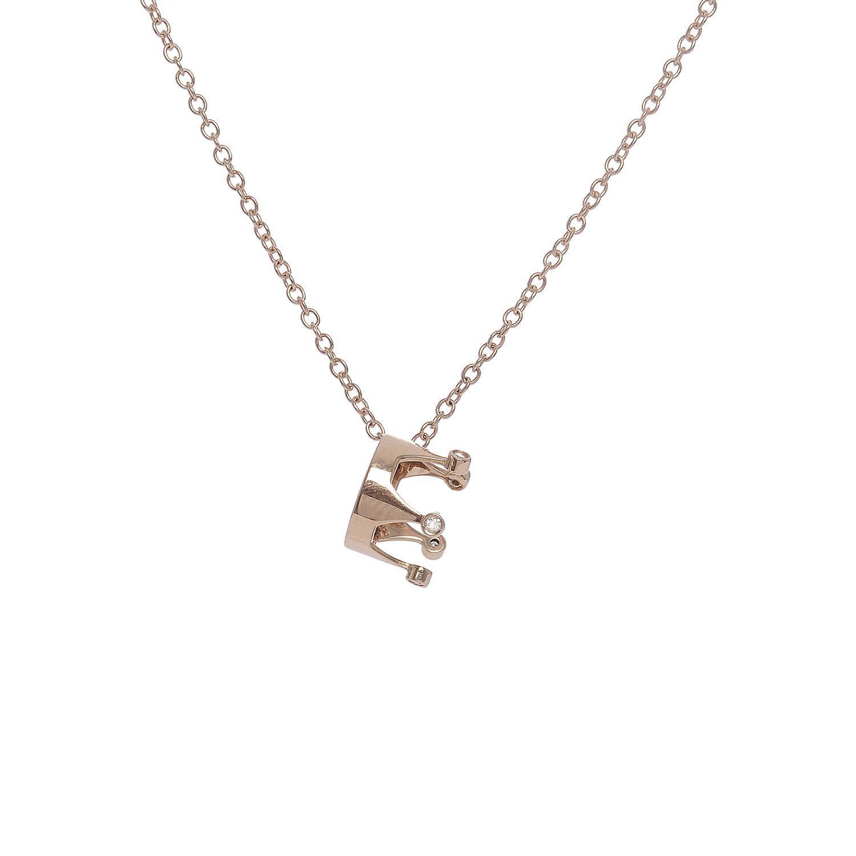 Collana in oro 18k e diamanti