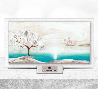 Cartapietra Quadretto Un Posto Tranquillo 16 x 9 cm