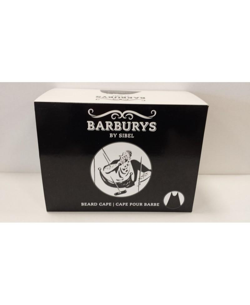 BARBURYS MANTELLINA PER LA BARBA CON VENTOSE BEARD CAPE