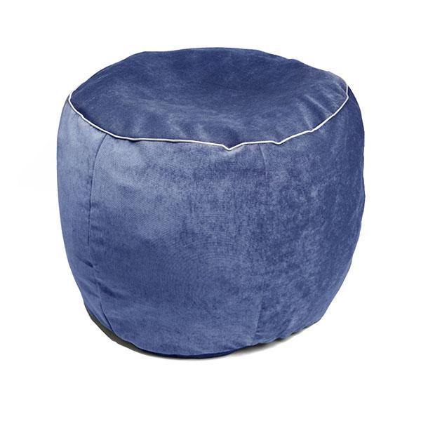 Pouf morbido Blu