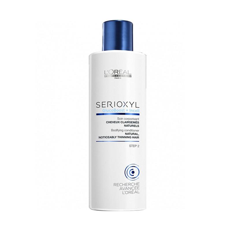 L'oreal Serioxyl glucoboost + incell conditioner natural noticeably thinning hair 250 ml