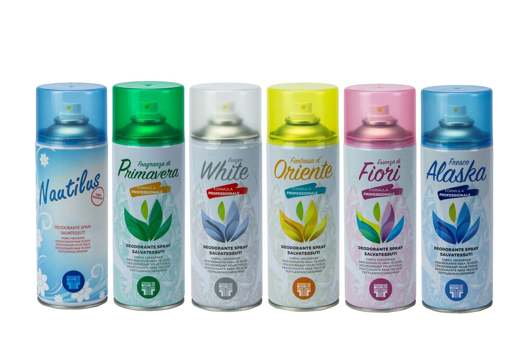 Profumatori per Bucato | Deodoranti per tessuti Terilli