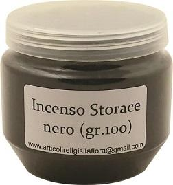 Incenso Storace nero (gr. 100)