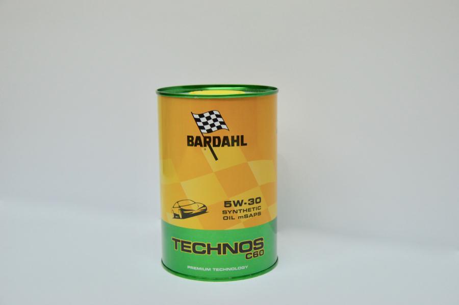 OLIO MOTORE BARDAHL TECHNOS C60 5W30 1L