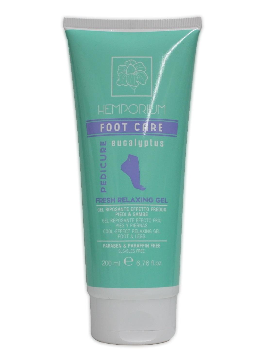 Hemporium - FOOT CARE - FRESH RELAXING GEL 200ml