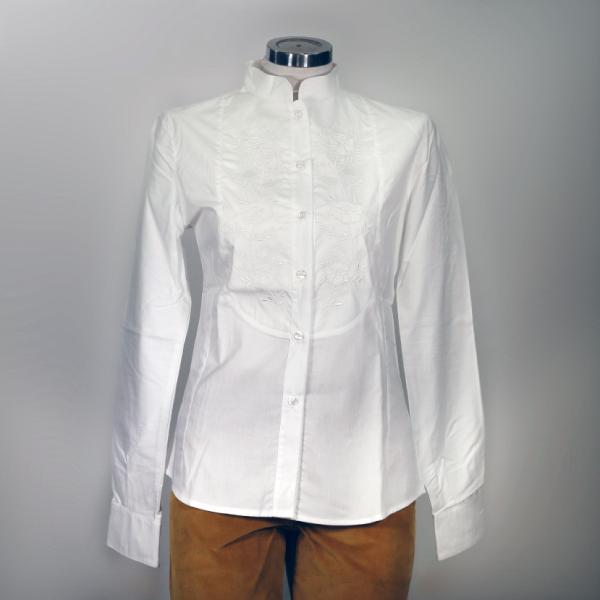 Camicia Cotone Ricamata Donna