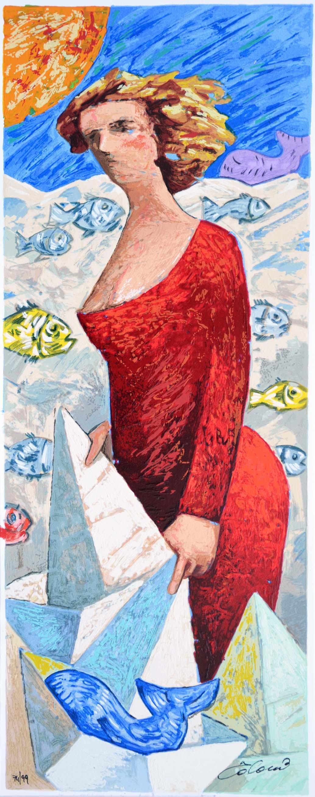 Talani Giampaolo, Serigrafia polimaterica, Form. cm 50x20