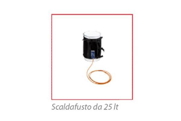Fascia scaldafusto da 25 lt / 200 lt   e  soluzioni  personalizzate