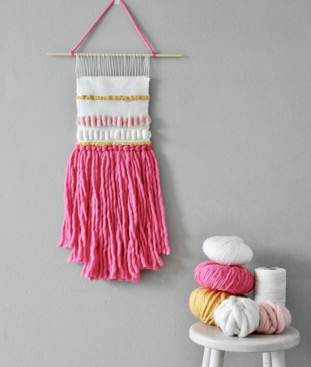 Weaving KitS - Weaving KitS - ICE CREAM WALL HANGING - 1