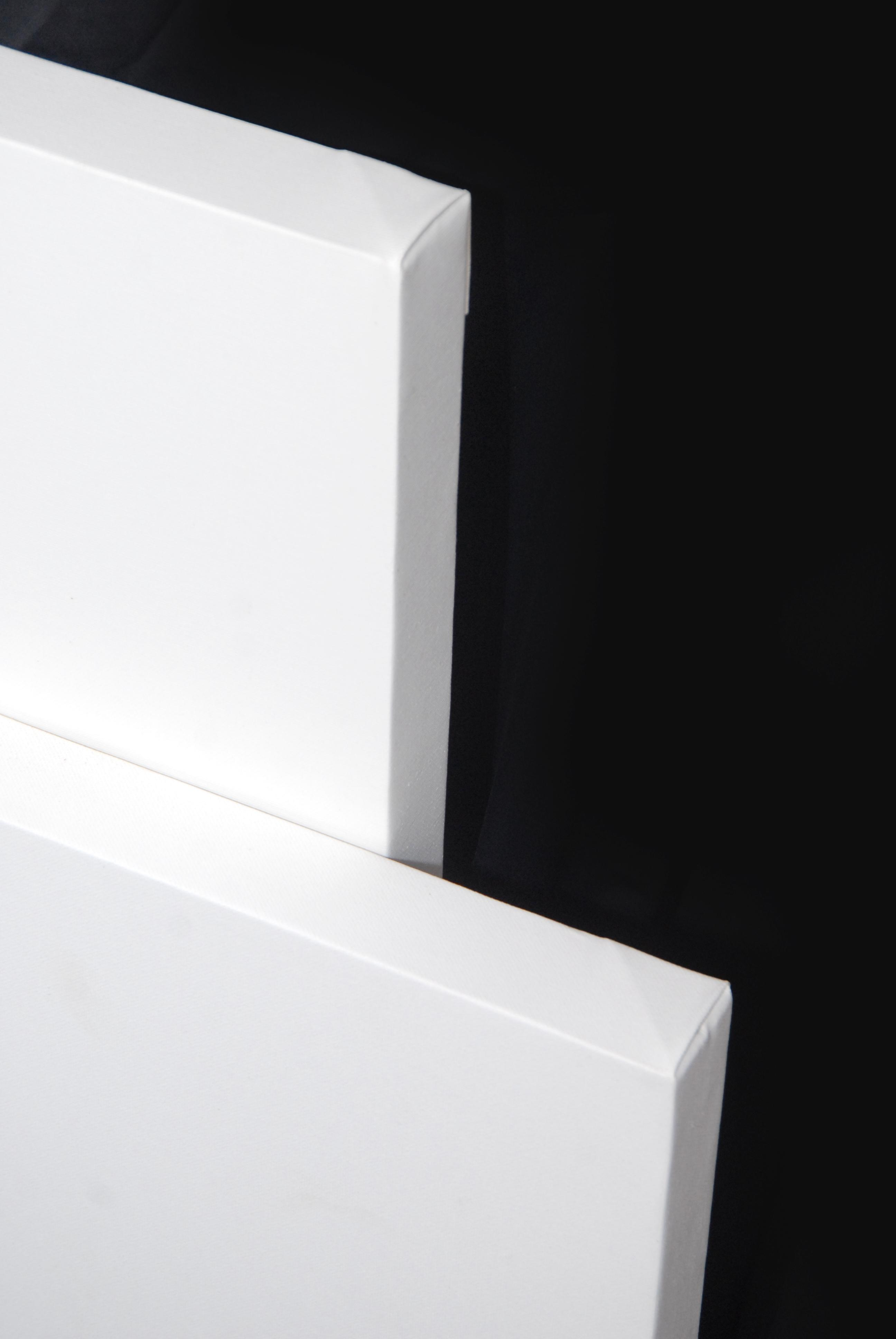 Tele Gallery in Juta - profilo telaio 4 cm -Tele Gallery Juta Bianche per dipingere