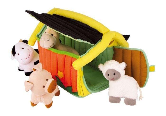 Gioco Peluche fattoria degli animali di stoffa per bambino
