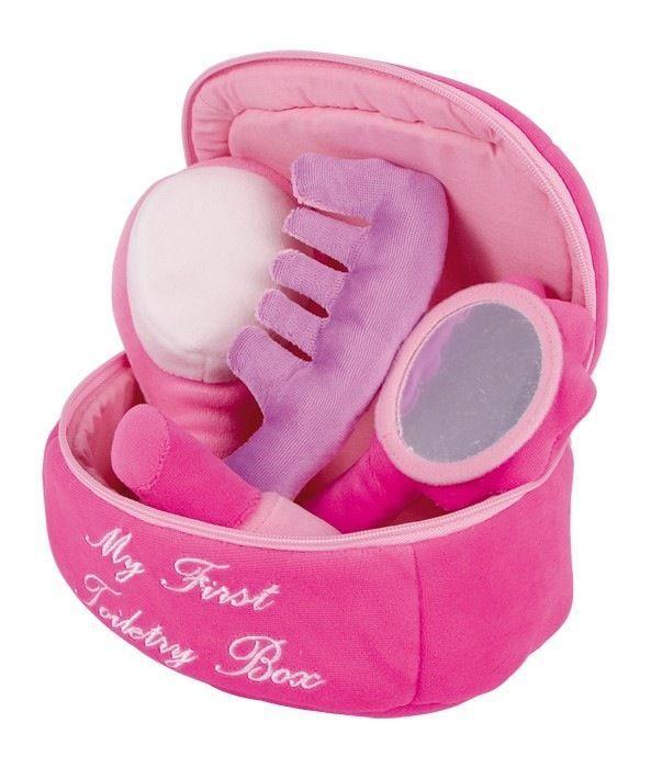 Gioco borsa porta trucchi cosmetici in peluche per bambina