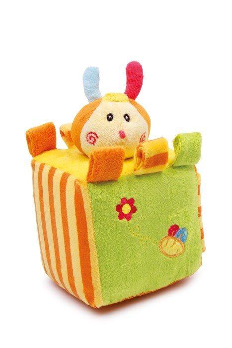 Cubo Dado in peluche colorato gioco attività neonato