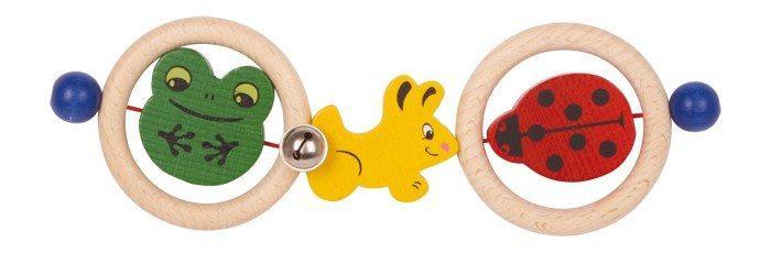 Gioco tattile in legno con animali colorate,giocattolo neonati
