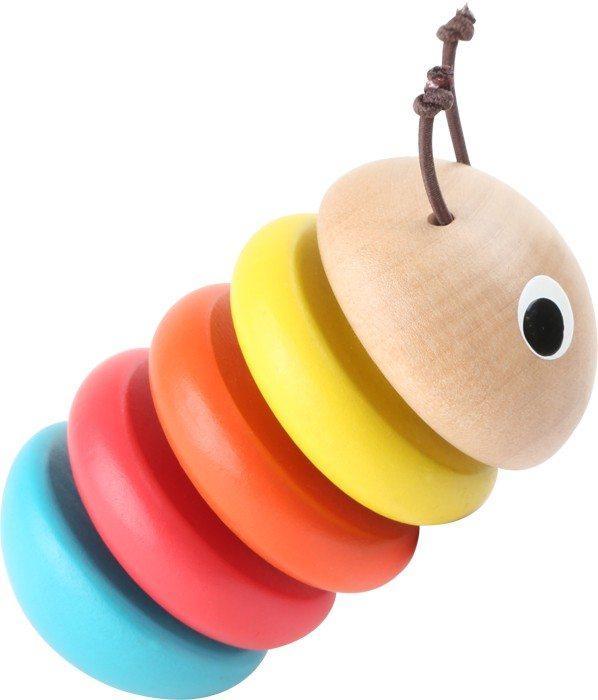 Gioco tattile in legno per neonato multicolore