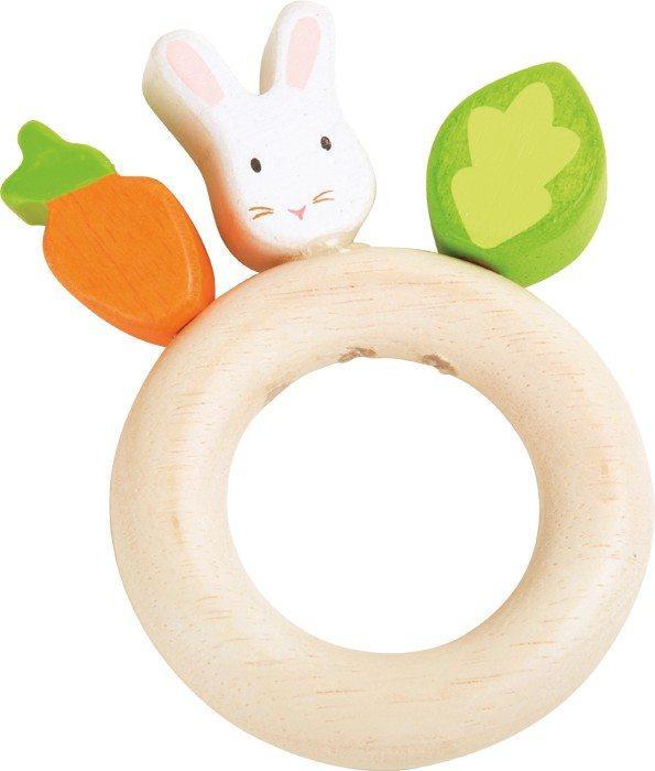 Tattile Coniglietto gioco in legno per neonato