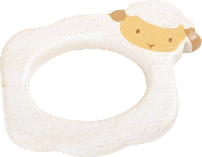 Gioco Tattile in legno per bambini neonato Pecora