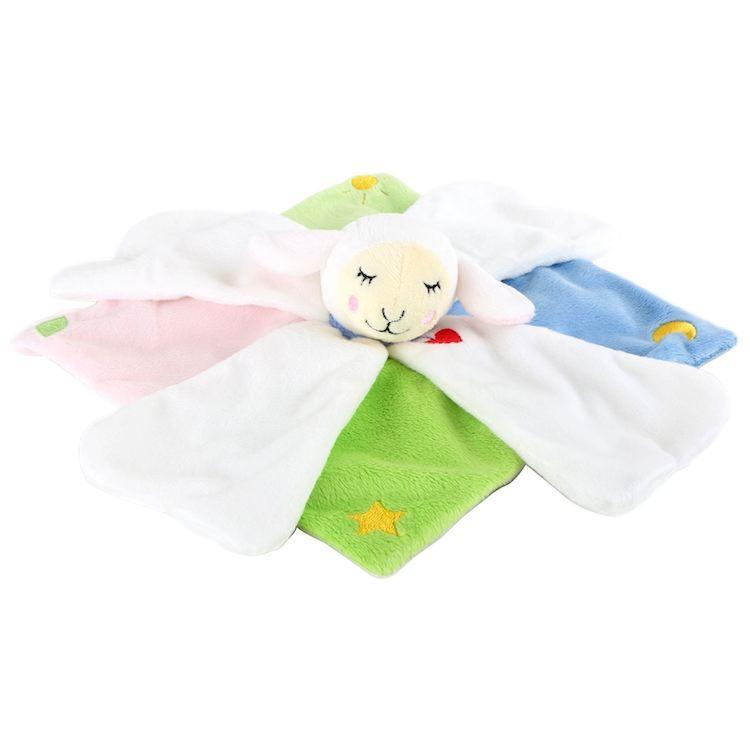 Doudou per bambini gioco per neonato Pecorella Lotta Legler 10020