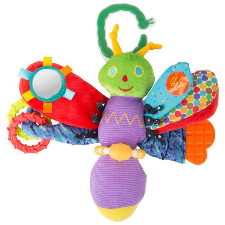 Bruco Maisazio gioco attività per neonato Farfalla