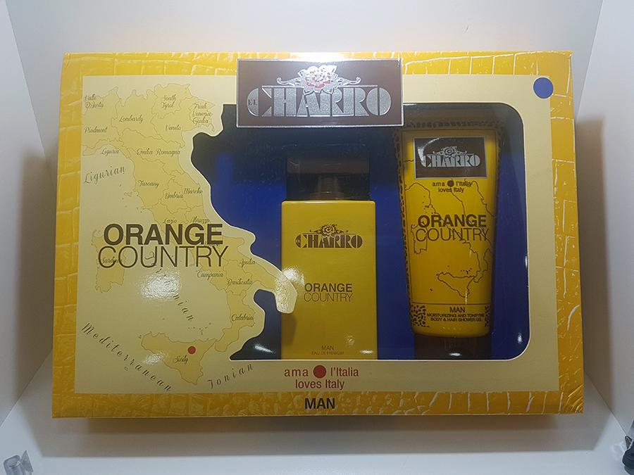 Confezione Charro Eau de Parfum Man Orange Country + Doccia
