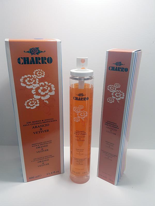 Charro Gel Bagno doccia alla colonia profumata Arancio e Vetiver