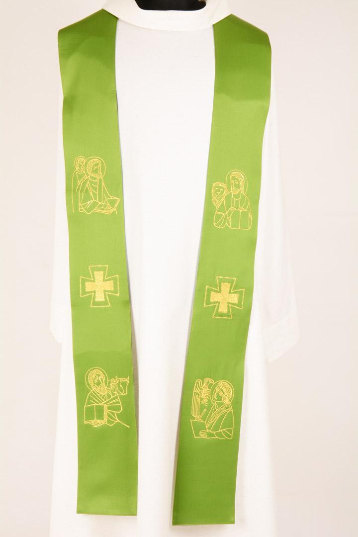 Stola S15 M1 Verde Evangelisti - Faille