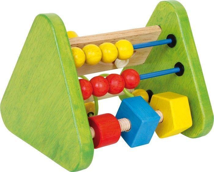 Gioco attività triangolo motrocità in legno per neonato/bambino