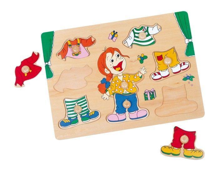 Puzzle da vestire con 8 elementi per bambino/bambina. Idea regalo