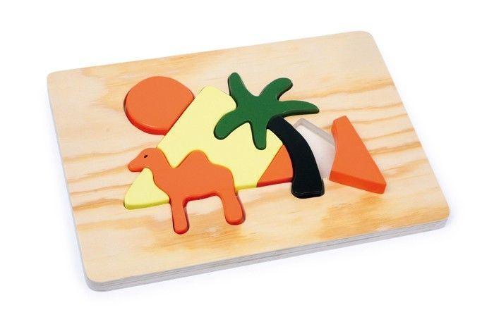 Puzzle piramide/africa in legno Gioco x bambino/bambina