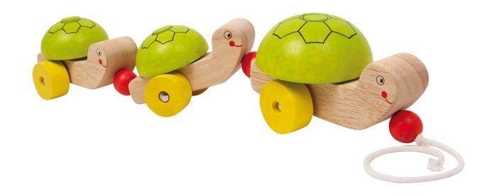 Tartarughe animale da trainare in legno Gioco x bambino/bambina
