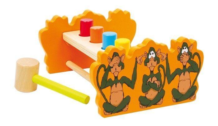 Martello/martelletto double-face in legno Gioco per bambini