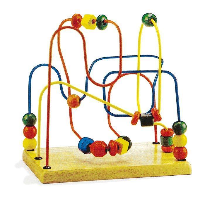 Gioco attività in legno, aiuto motricità e i sensi del bambino