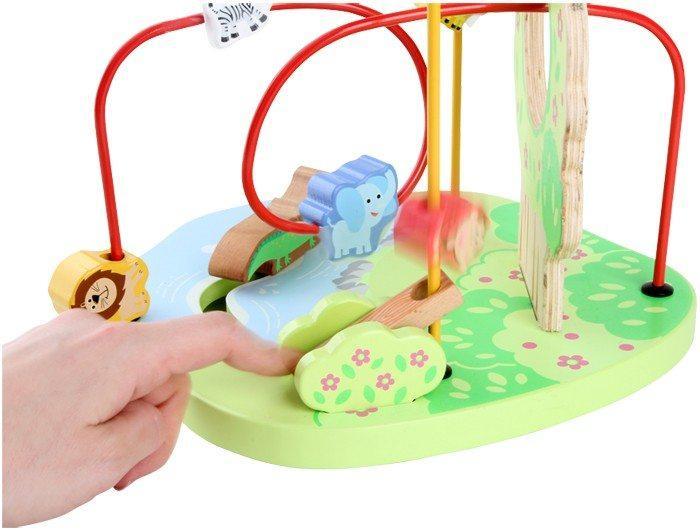 Gioco attività Giungla per bambini.motricità