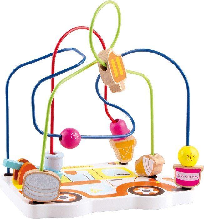 Gioco attività Gelato per bambini stimolo motricità