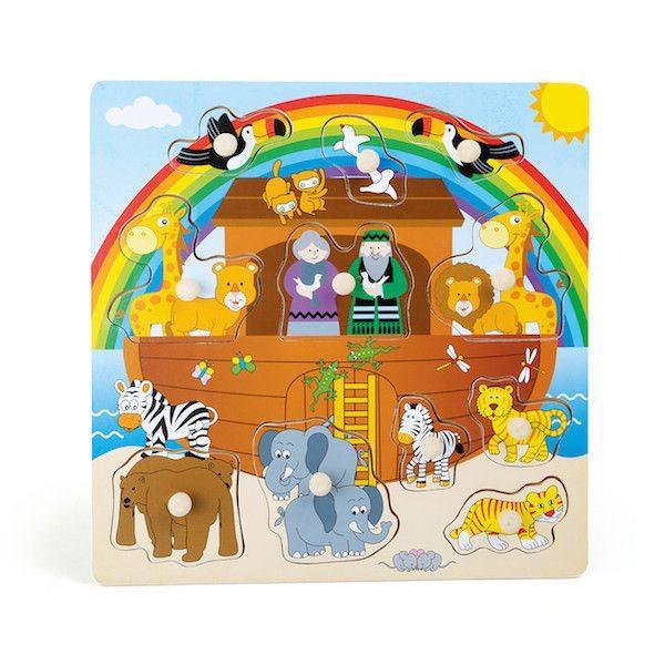 Puzzle in legno Arca di Noè Legler 10189