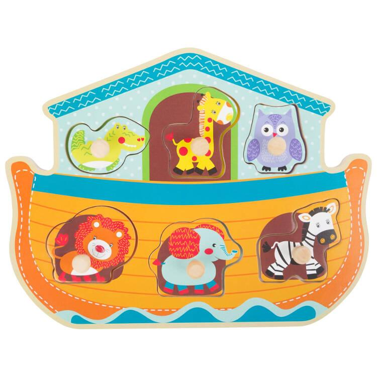 Puzzle in legno Arca di Noè