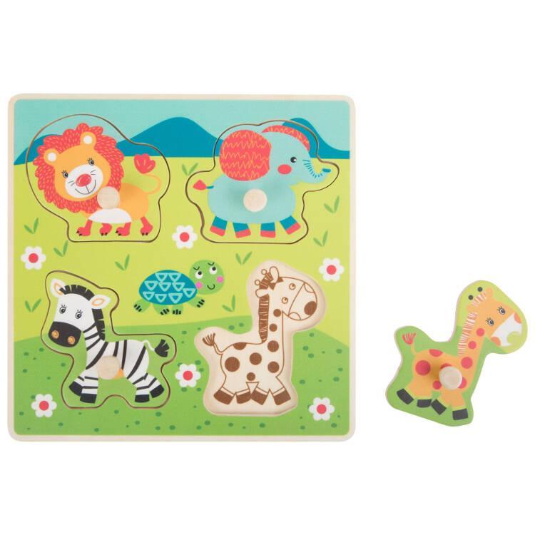 Puzzle in legno Animali selvatici Safari