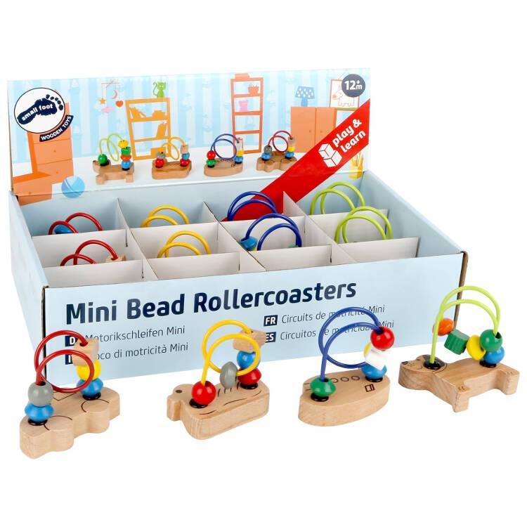 Gioco di motricità in legno per bambini Mini Espositore display