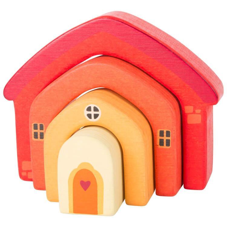 Costruzioni in legno Casa Gioco motricità bambini