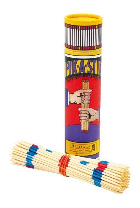Mikado gioco classico di società in legno per tutti