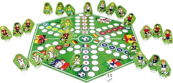 Ludo coppa delle nazioni gioco classico di società da tavolo in legno