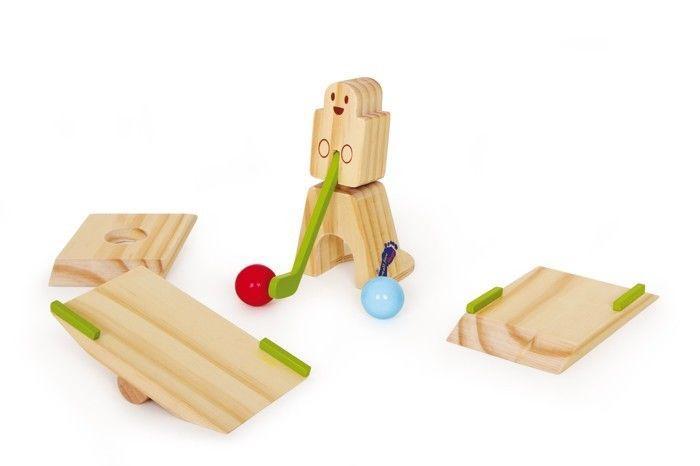 Minigolf da tavola  gioco in legno per bambini