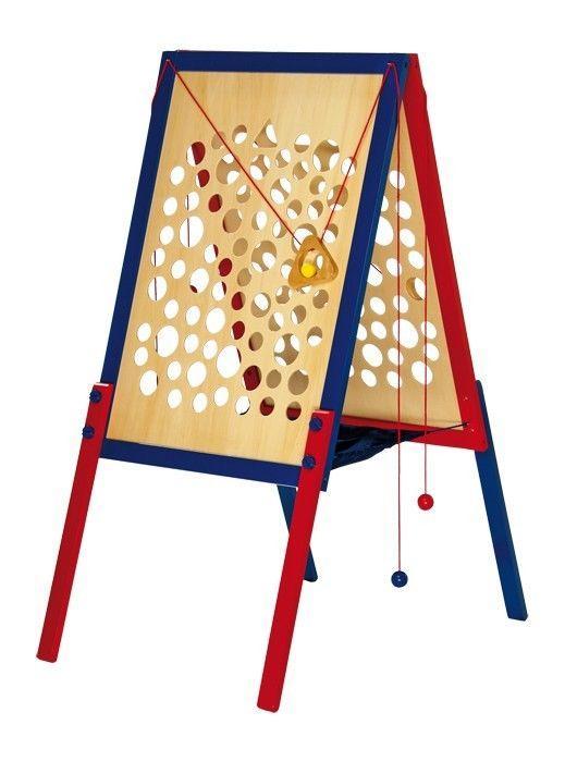 Percorso arrampicata Grande gioco in legno per bambini