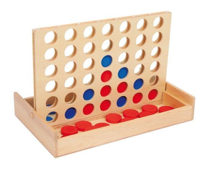 4 in fila forza 4 gioco in legno