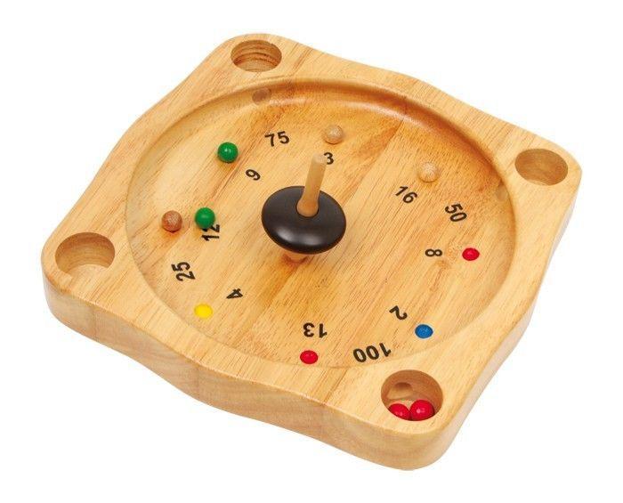 Roulette in legno gioco di società per bambini