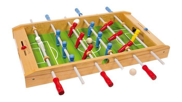 Calcio/bigliardino/calcio balilla da tavolo in legno per bambini