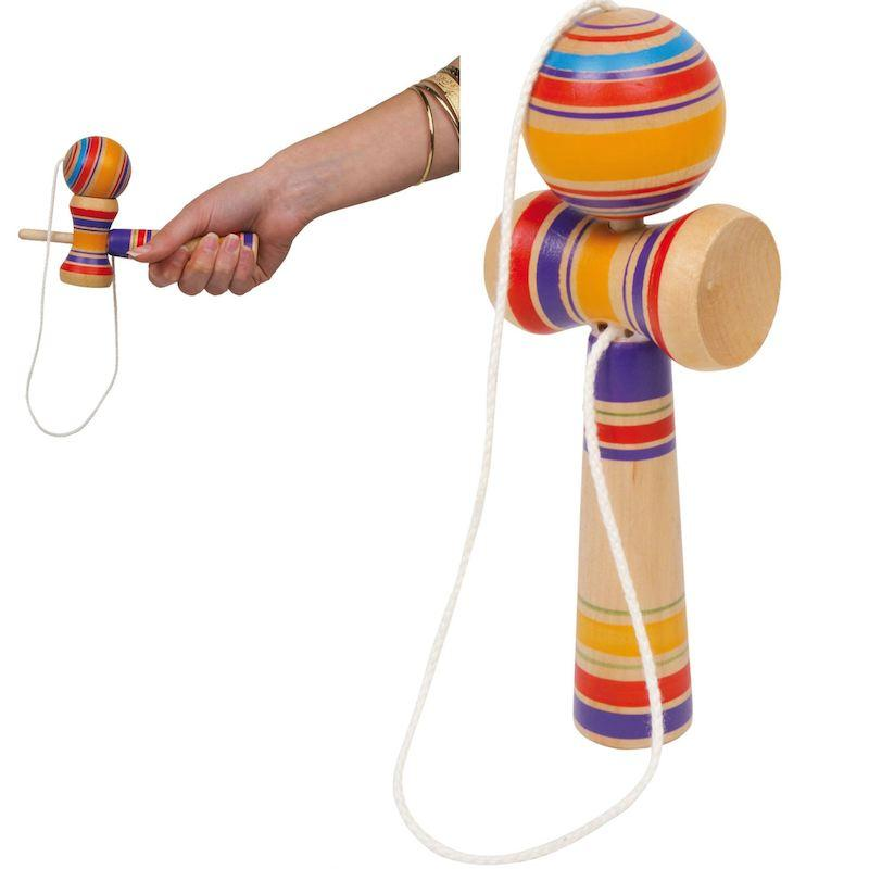 Kendama colorato afferra la pallina
