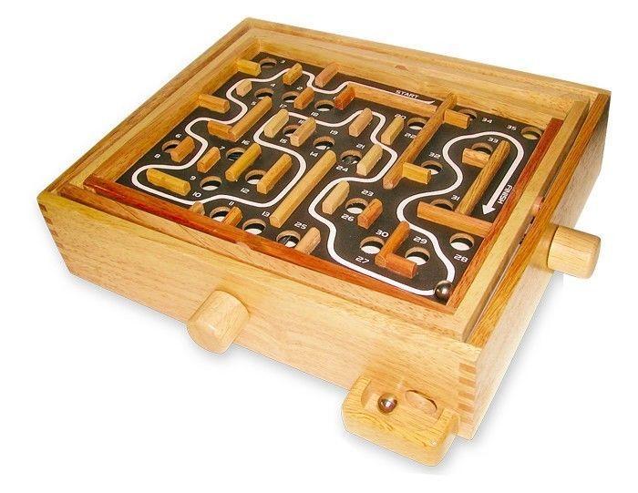 Labirinto tavolo gioco ribaltabile per bambini in legno