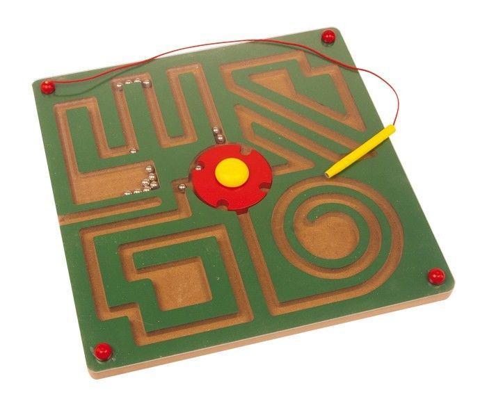 Labirinto tavolo magnetico Astratto gioco per bambini in legno